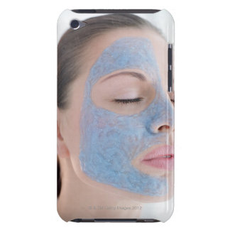 portrait of you woman with one face side ed iPod Case-Mate case