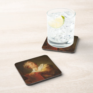 Portrait of Young Artist by Jean-Honore Fragonard Coasters