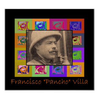 Portrait of young Pancho Villa Poster