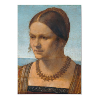 Portrait of Young Venetian Lady by Durer Card