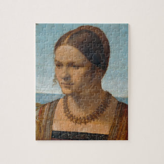 Portrait of Young Venetian Lady by Durer Puzzle