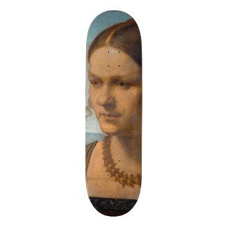 Portrait of Young Venetian Lady by Durer Skateboard