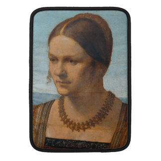 Portrait of Young Venetian Lady by Durer Sleeve For MacBook Air