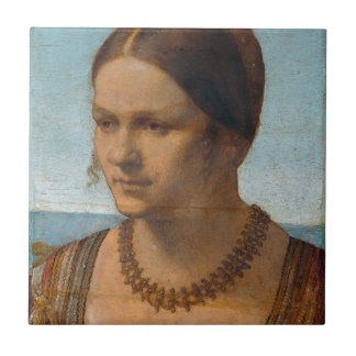 Portrait of Young Venetian Lady by Durer Tiles