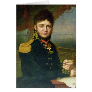 Portrait of Yuri F. Lisyansky, 1810 Greeting Cards