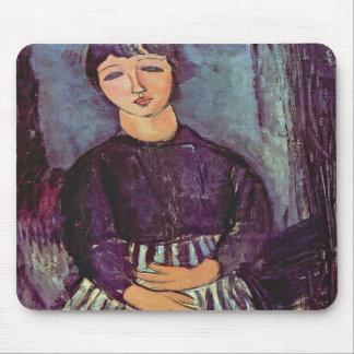 Portrait of Zofe by Amedeo Modigliani Mouse Pads
