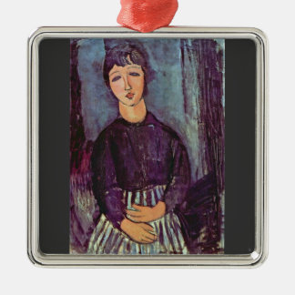 Portrait of Zofe by Amedeo Modigliani Christmas Tree Ornament