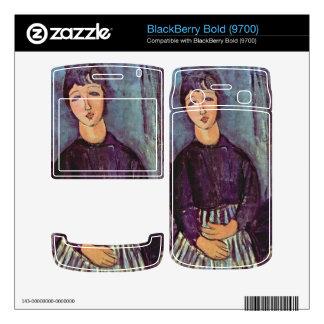 Portrait of Zofe by Amedeo Modigliani BlackBerry Bold Decal