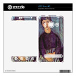 Portrait of Zofe by Amedeo Modigliani Decals For The HTC Evo 4G
