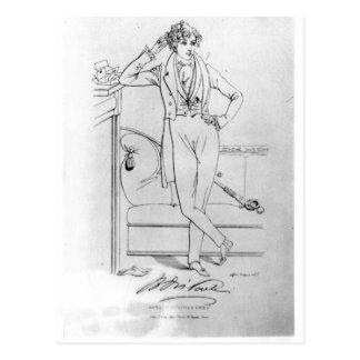 Portrait ofBenjamin Disraeli  Author 'Vivian Postcard