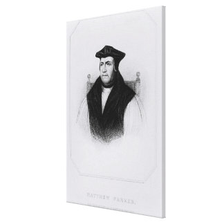 Portrait Parker from 'Lodge's British Gallery Wrap Canvas