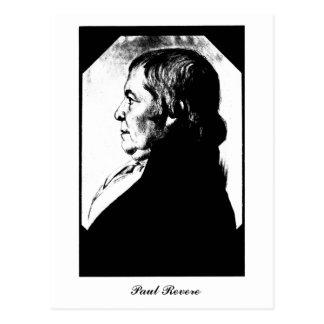 Portrait Paul Revere round 1800 Postcard