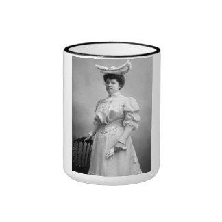 "PORTRAIT ""PAULE"" (1890s) Ringer Coffee Mug"