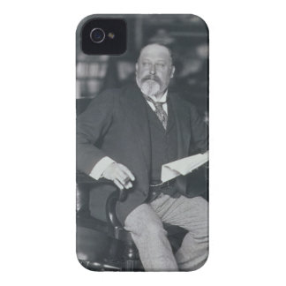 Portrait photograph of Edward VII (1841-1910) (b/w iPhone 4 Case-Mate Case