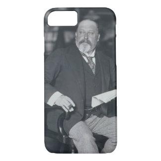 Portrait photograph of Edward VII (1841-1910) (b/w iPhone 8/7 Case