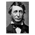 Portrait Photograph of Henry David Thoreau Cards