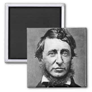 Portrait Photograph of Henry David Thoreau Magnet