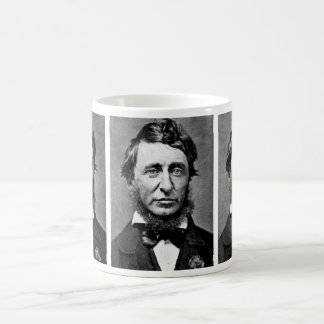 Portrait Photograph of Henry David Thoreau Coffee Mug