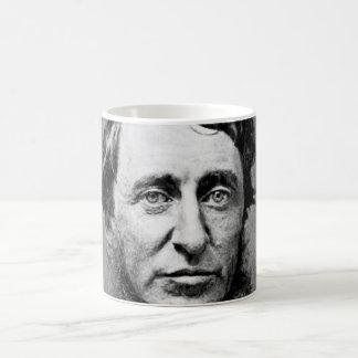 Portrait Photograph of Henry David Thoreau Mugs