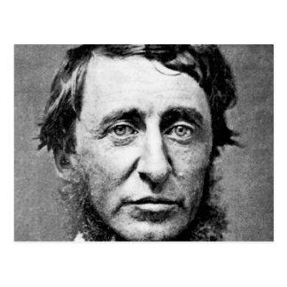 Portrait Photograph of Henry David Thoreau Postcard