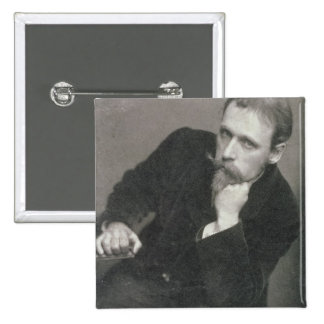 Portrait photograph of Walter Crane (1845-1915) by Pinback Button