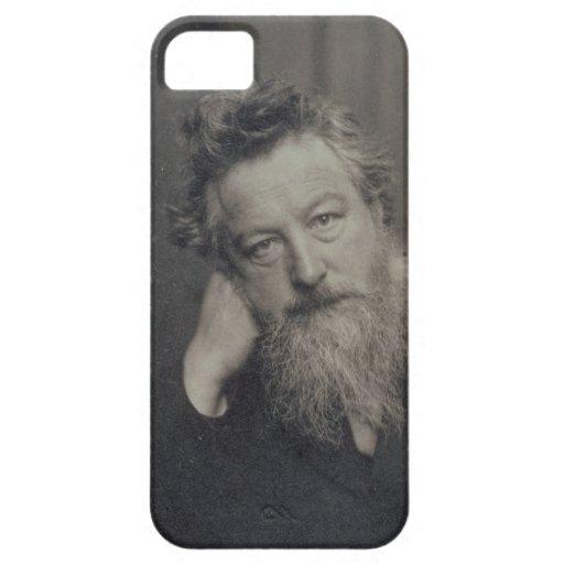 Portrait photograph of William Morris (1834-96) by iPhone 5 Case