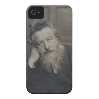 Portrait photograph of William Morris (1834-96) by iPhone 4 Cases