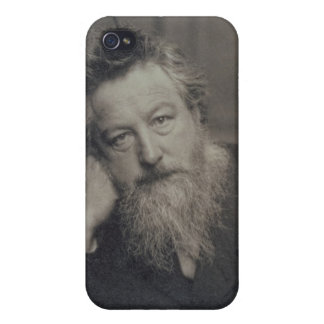 Portrait photograph of William Morris (1834-96) by iPhone 4/4S Cases