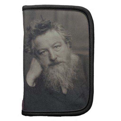 Portrait photograph of William Morris (1834-96) by Planners