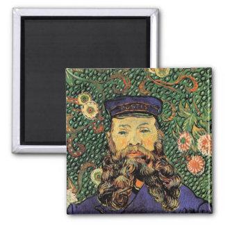 Portrait Postman Joseph Roulin Van Gogh Fine Art Magnet