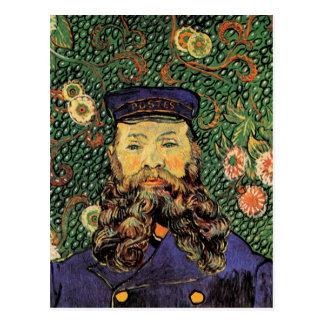 Portrait Postman Joseph Roulin Van Gogh Fine Art Postcard