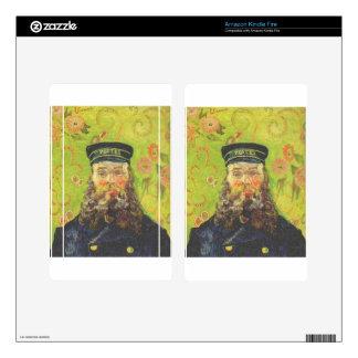 Portrait Postman Joseph Roulin - Vincent van Gogh Kindle Fire Decal