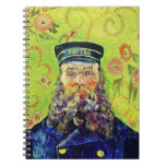 Portrait Postman Joseph Roulin Vincent van Gogh Spiral Notebooks