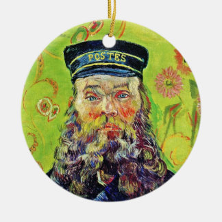 Portrait Postman Joseph Roulin Vincent van Gogh Ornaments