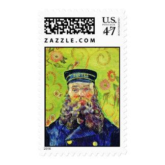 Portrait Postman Joseph Roulin Vincent van Gogh Postage
