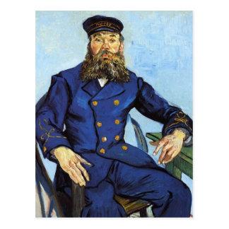 Portrait, Postman Joseph Roulin, Vincent Van Gogh Post Cards