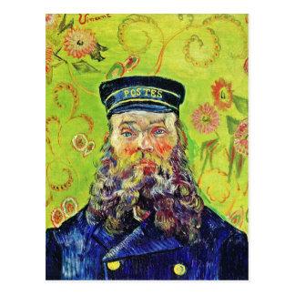 Portrait Postman Joseph Roulin Vincent van Gogh Postcard