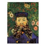 Portrait: Postman Joseph Roulin, Vincent van Gogh Postcard