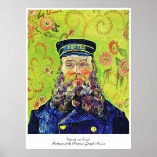 Portrait Postman Joseph Roulin Vincent van Gogh Poster