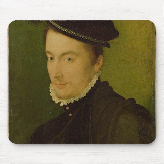 Portrait presumed Hercule-Francois de France Mouse Pad