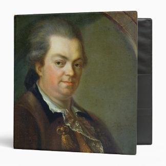 Portrait presumed to be 3 ring binder