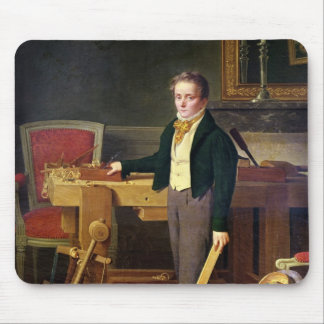 Portrait presumed to be Alfred de La Chaussee Mouse Pad