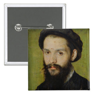 Portrait presumed to be Clement Marot Pinback Button