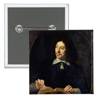 Portrait presumed to be Etienne Delafons, 1648 Button