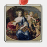 Portrait presumed to be Francoise-Athenais Metal Ornament