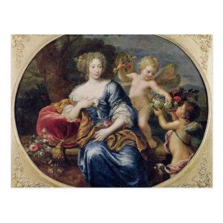 Portrait presumed to be Francoise-Athenais Postcard
