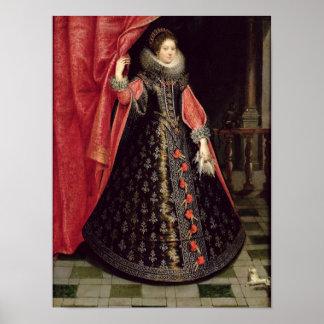 Portrait presumed to be Henrietta Maria of Print