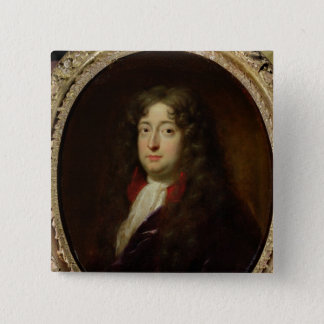 Portrait presumed to be Jean Racine Pinback Button