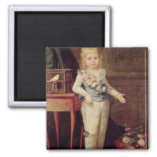 Portrait Presumed to be Louis XVII Fridge Magnets