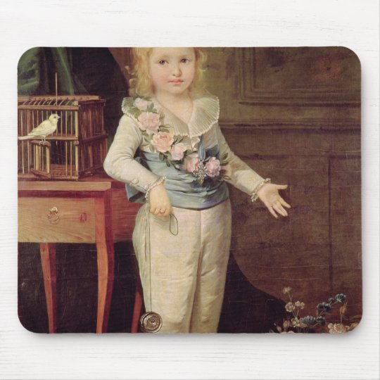 Portrait Presumed to be Louis XVII Mouse Pad